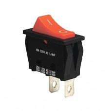 KCD3-101 R/B Переключатель 1 клав. красный