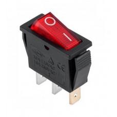 KCD3-102 R/B Переключатель 1 клав. красный