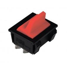 KCD2-9-201 R/B Переключатель 1 клав. красный