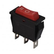 KCD3-103 R/B Переключатель 1 клав. перекидной красный