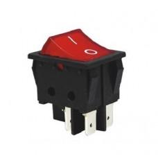 KCD2-201 R/B Переключатель 1 клав. красный