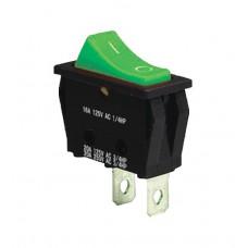 KCD3-101 G/B Переключатель 1 клав. зеленый