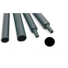 Термоусадочная трубка СТТК10 25,4/8,0 чёрная (1м.)