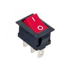 KCD1-102 R/B Переключатель 1 клав. (красный)