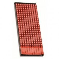 Маркер для кабеля 0,5-1,5мм2 символ 4, фон желтый, MKF4S1, ДКС