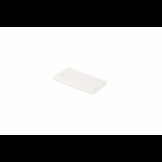 Табличка маркировочный для маркера, цвет белый, 26,4х16,2 мм 2104291 ДКС