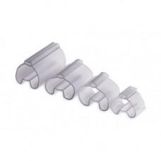 Трубочка прозрачная для жесткой маркировки, 1,5-2,5 мм, длина 12 мм., TUB1201, ДКС