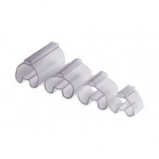 Трубочка прозрачная для жесткой маркировки, 1,5-2,5 мм, длина 15 мм., TUB1501, ДКС