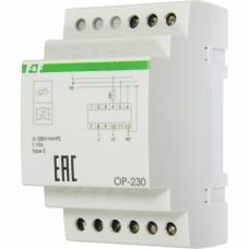 Помехоподавляющий ограничитель F&F OP-230 230В AC 0,5 мА