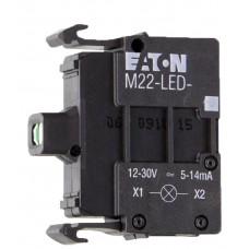 Сигнальная лампа Eaton Moeller M22-LED-R (переднее крепление)
