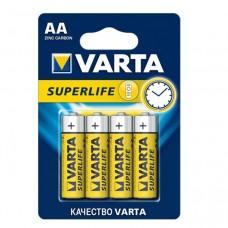 Батарейка солевая Varta Superlife AA (блистер 4шт)