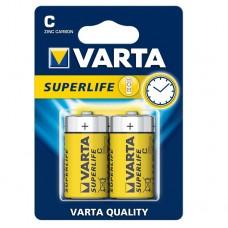 Батарейка солевая Varta Superlife C (блистер 2шт)