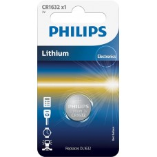Литиевая батарейка Philips CR1632/00B Lithium CR 1632 BLI 1