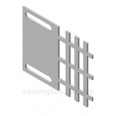Монтажная пластина адаптера для разборного щита Билмакс Б00000833 ПМА200