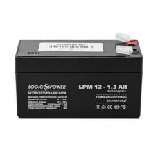 Аккумулятор LogicPower AGM LPM 12-1.3 AH 12В