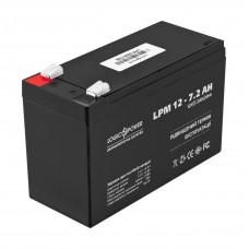 Аккумулятор LogicPower AGM LPM 12-7.2 AH