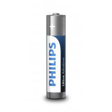 Батарейка Philips LR03E2B/10 Ultra Alkaline AAA BLI 2