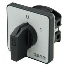 Кулачковый переключатель EMAS PS050AK131 ON-OFF (0-1) 50А