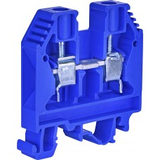 Винтовая нейтральная клемма ETI 003901102 VS 10 PA N 10мм² (синяя)