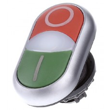 Головка кнопки Eaton Moeller M22-DDL-GR-X1/X0