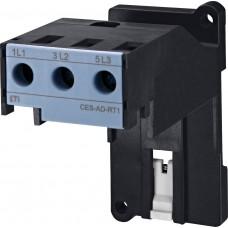 Адаптер теплового реле ETI 004646614 CES-AD-RT1 (CES25…32)