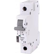 Автоматический выключатель ETI 002181316 ST-68 1p С 16А (4.5 kA)