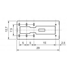 Электромеханическое реле ETI 002473046 MER1-012DC (1x16A 250VAC)