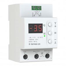 Терморегулятор Terneo sn 32 А для системы снеготаяния
