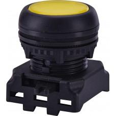 Утопленная кнопка-модуль с подсветкой ETI 004771252 EGFI-Y (желтая)