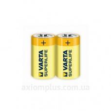 Батарейка солевая Varta Superlife C (вакуум 2шт)