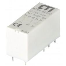 Миниатюрное электромеханическое реле ETI 002473032 MER2-024 DC 2p