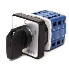 Кулачковый переключатель полюсов EMAS PSA016KD334S реверсивный (1-0-2) 16А