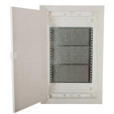 Мультимедийный щиток ETI 001101191 ECG42 MEDIA-PO (перфорированная панель и пластиковая белая дверь)
