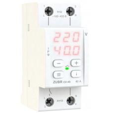 Реле контроля тока Zubr CV-40 red 40А 8800ВА