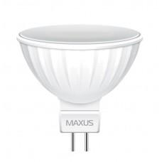 Светодиодная лампа Maxus MR16 GU5.3 3Вт 3000K 220В (1-LED-511)