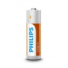 Батарейка Philips R6L4B/10 LongLife Zinc Carbon AA BLI 4