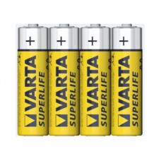 Батарейка солевая Varta Superlife AA (вакуум  4шт)