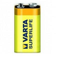 Батарейка солевая Varta Superlife крона