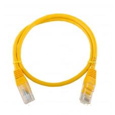 Патч-корд литой Logicpower UTP, RJ45, кат. 5Е, 0,5м
