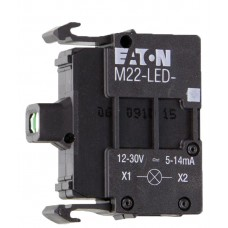 Сигнальная лампа Eaton Moeller M22-LED-W (переднее крепление)