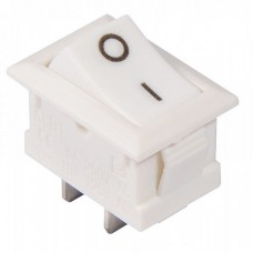 Клавишный переключатель kcd1-101 White/White, Аско [a0140040052]