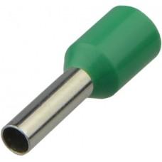Наконечники трубчатые нт 1,0-08 зеленые (упаковка 100шт. ) Аско [a0060010093]