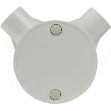 Коробка монтажна кругла 2 відвода (FA009 d20mm)