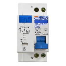 Диференційний вимикач ДВ-2002 25А 10мА АСКО