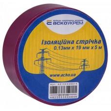 Стрічка ізоляційна 0,13мм*19мм/5м фіолетова