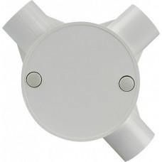 Коробка монтажна кругла 3 відвода (FA010 d20mm)