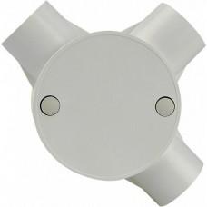 Коробка монтажна кругла 3 відвода (FA010 d25mm)