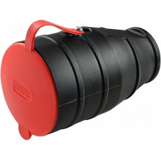 Розетка каучукова з захисною кришкою 3Р+РЕ 25А IP44