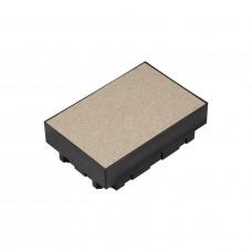 Коробка пластиковая под заливкув бетон для лючка на 6 модулей ETK44112 Ultra