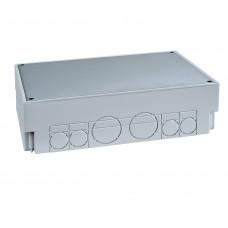 Коробка пластиковая выс. 75-95 мм под заливку в бетон для прямоугольного лючка 276х199 OptiLine 45